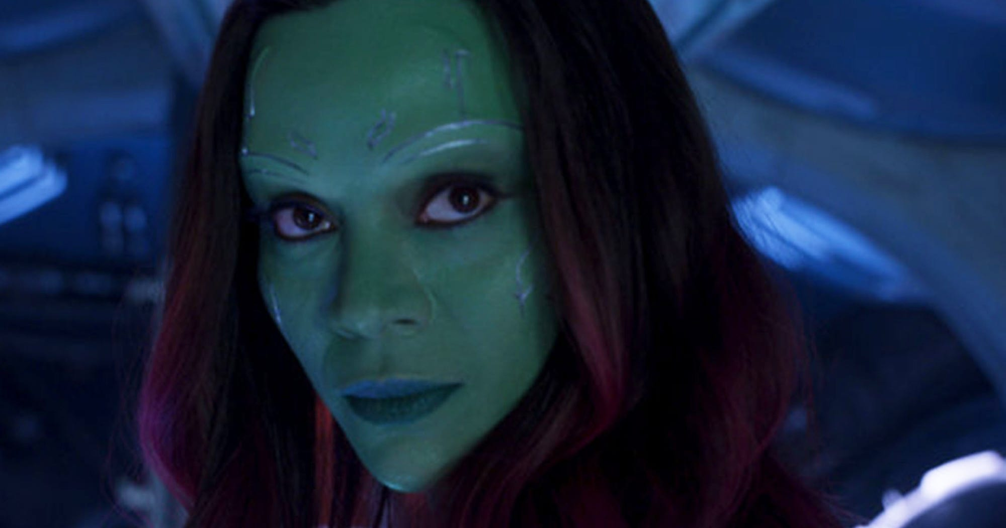 Why Is Zoe Saldana's Character Silent In All The Guardian Of The Galaxy Vol. 2 Trailers?