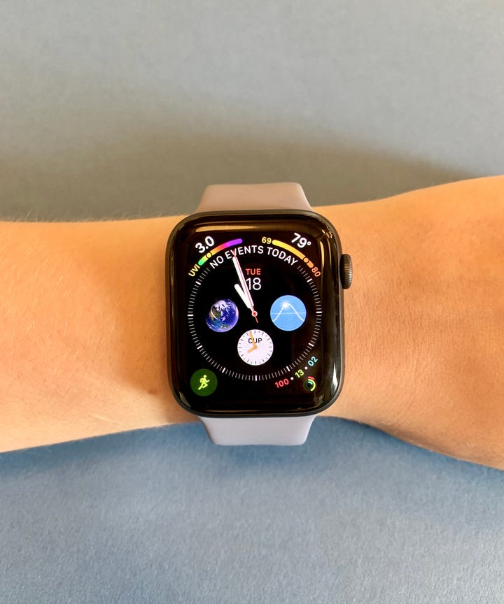 difference between series 3 and 4 apple watch