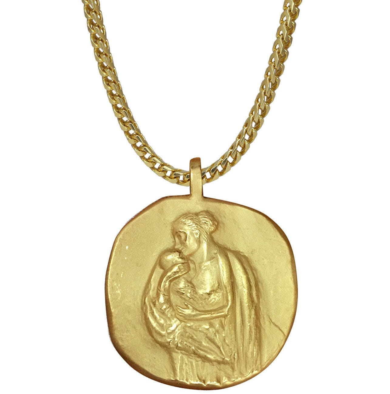 wwwimgkidcom chanel view medallion necklace men coin the l pendant gold imgkidcom larger image large