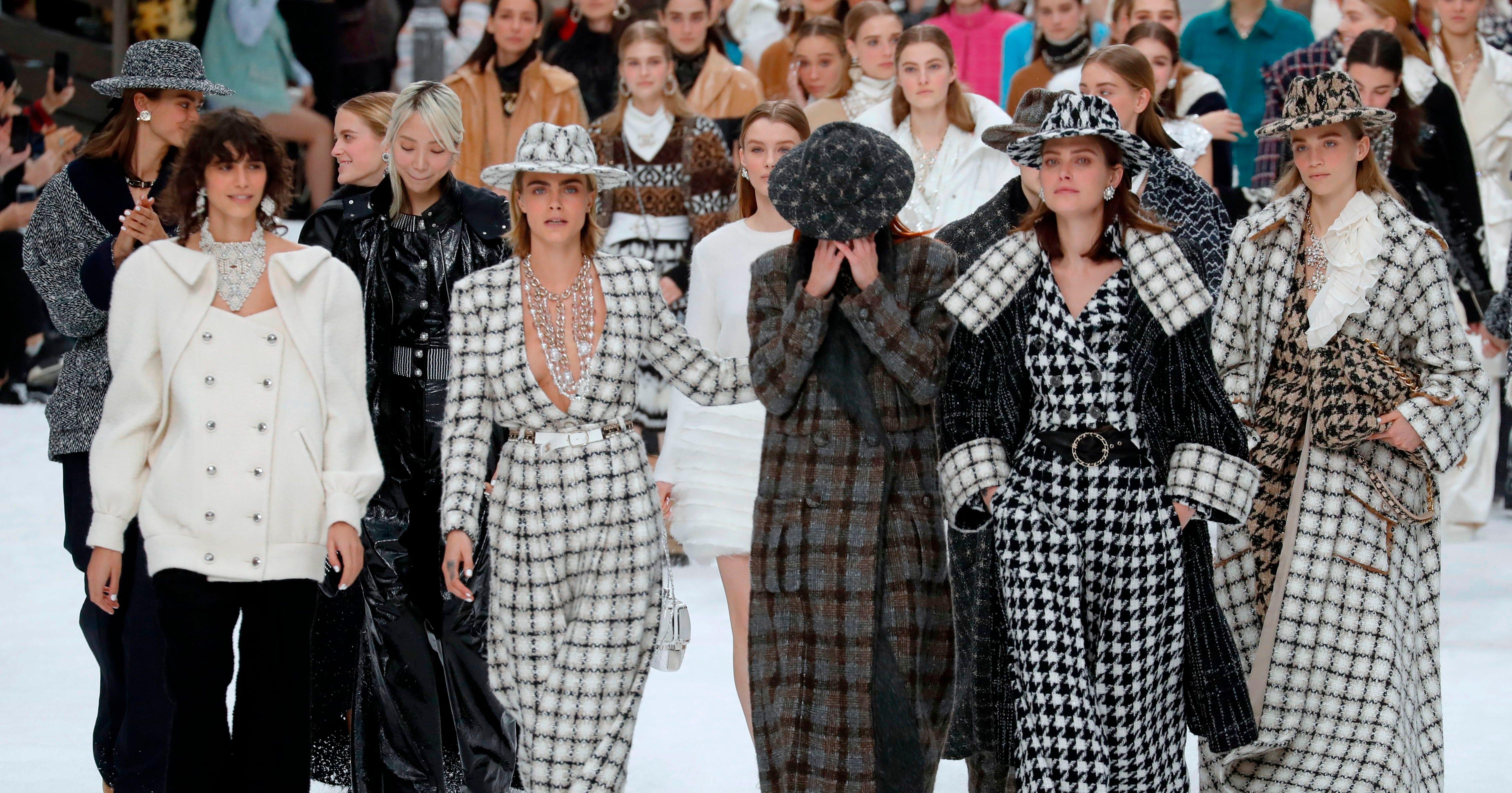 075d6dc74246 Karl Lagerfeld's Last Paris Fashion Show - Fall 2019