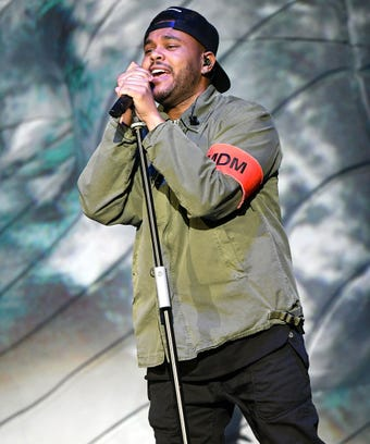 The Weeknd at Coachella