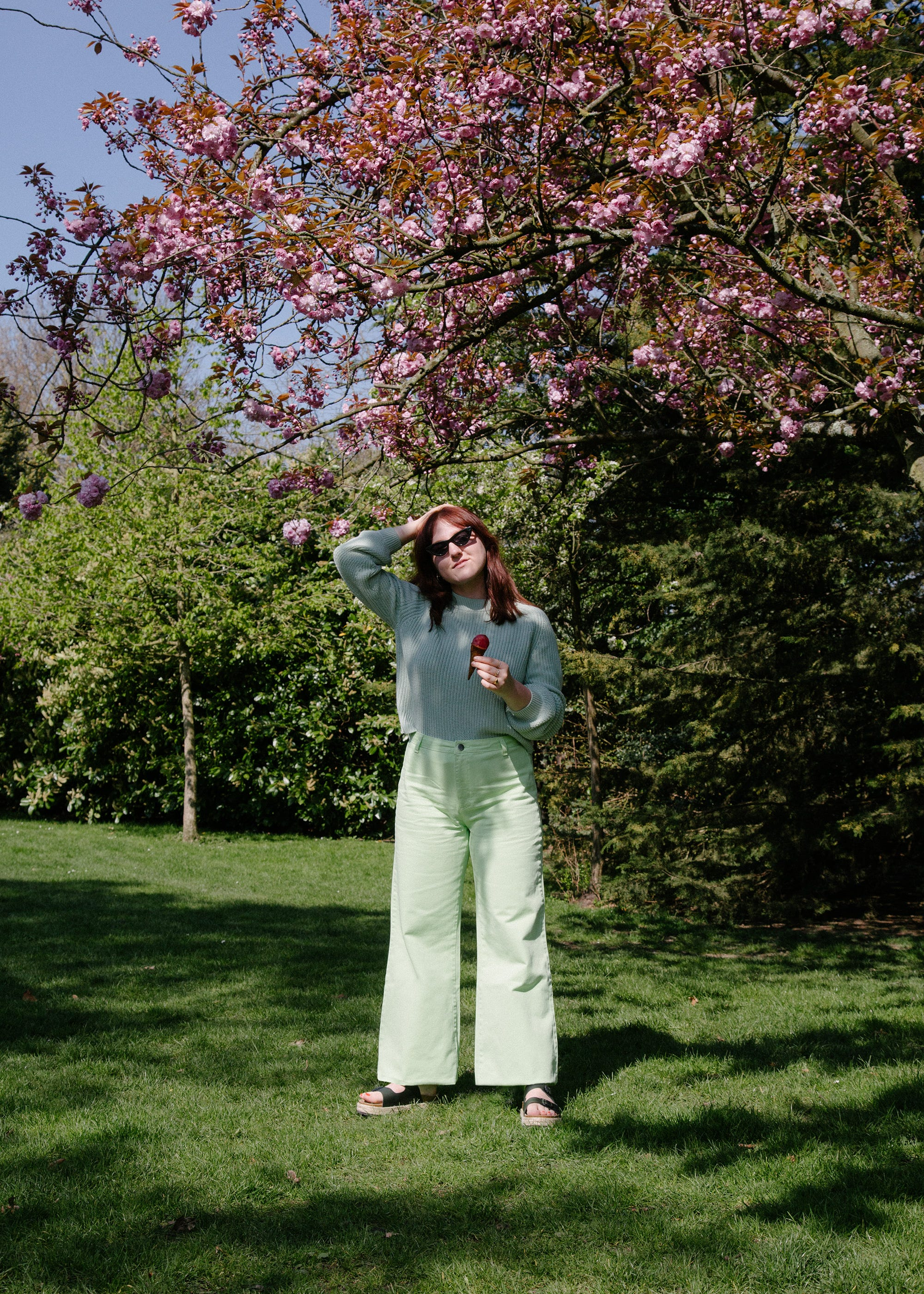 How R29's Junior Fashion Editor Styled Spring's Pastel Trend