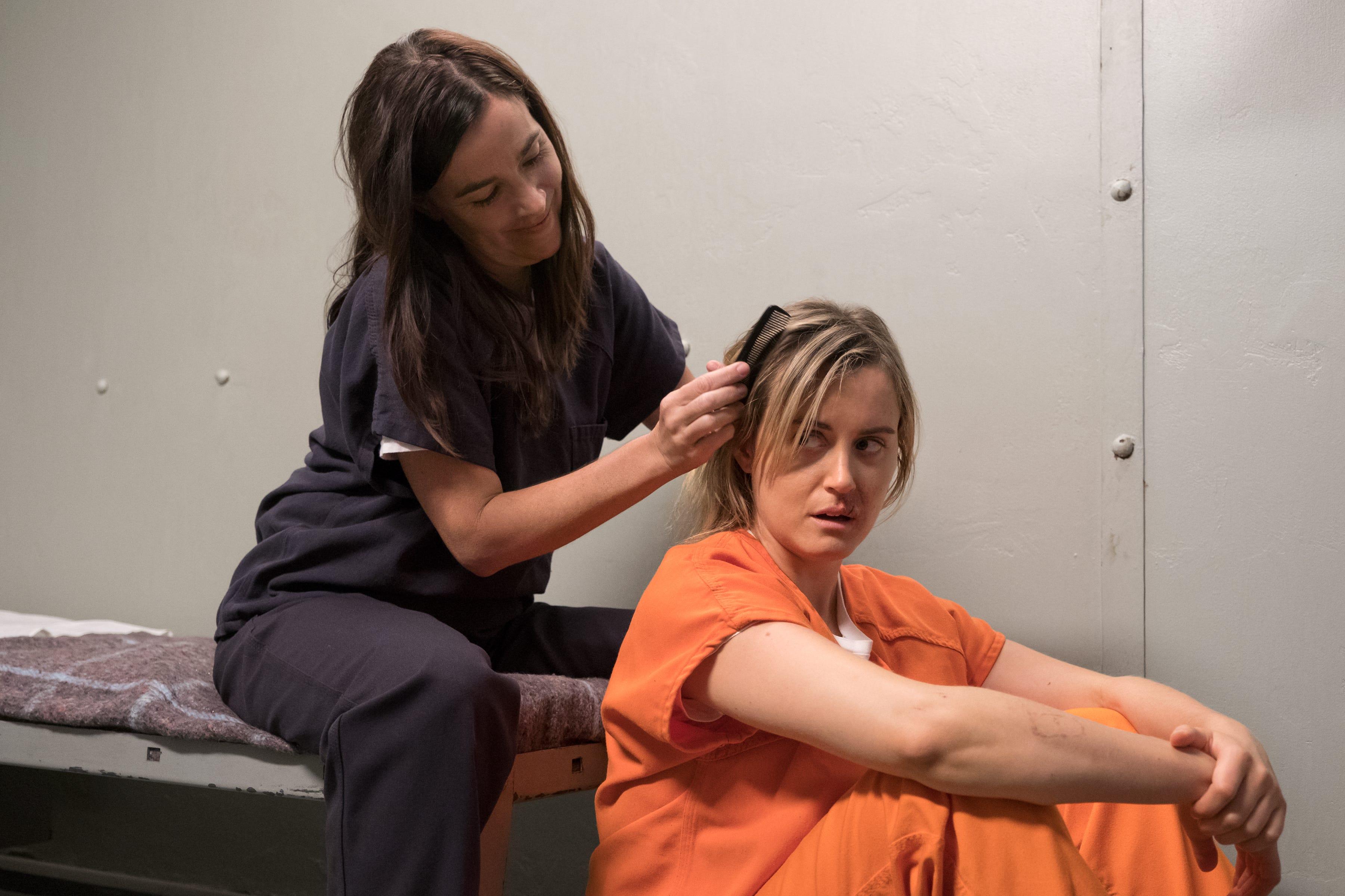 Mature lesbian jail, ruby red ass scorevideos