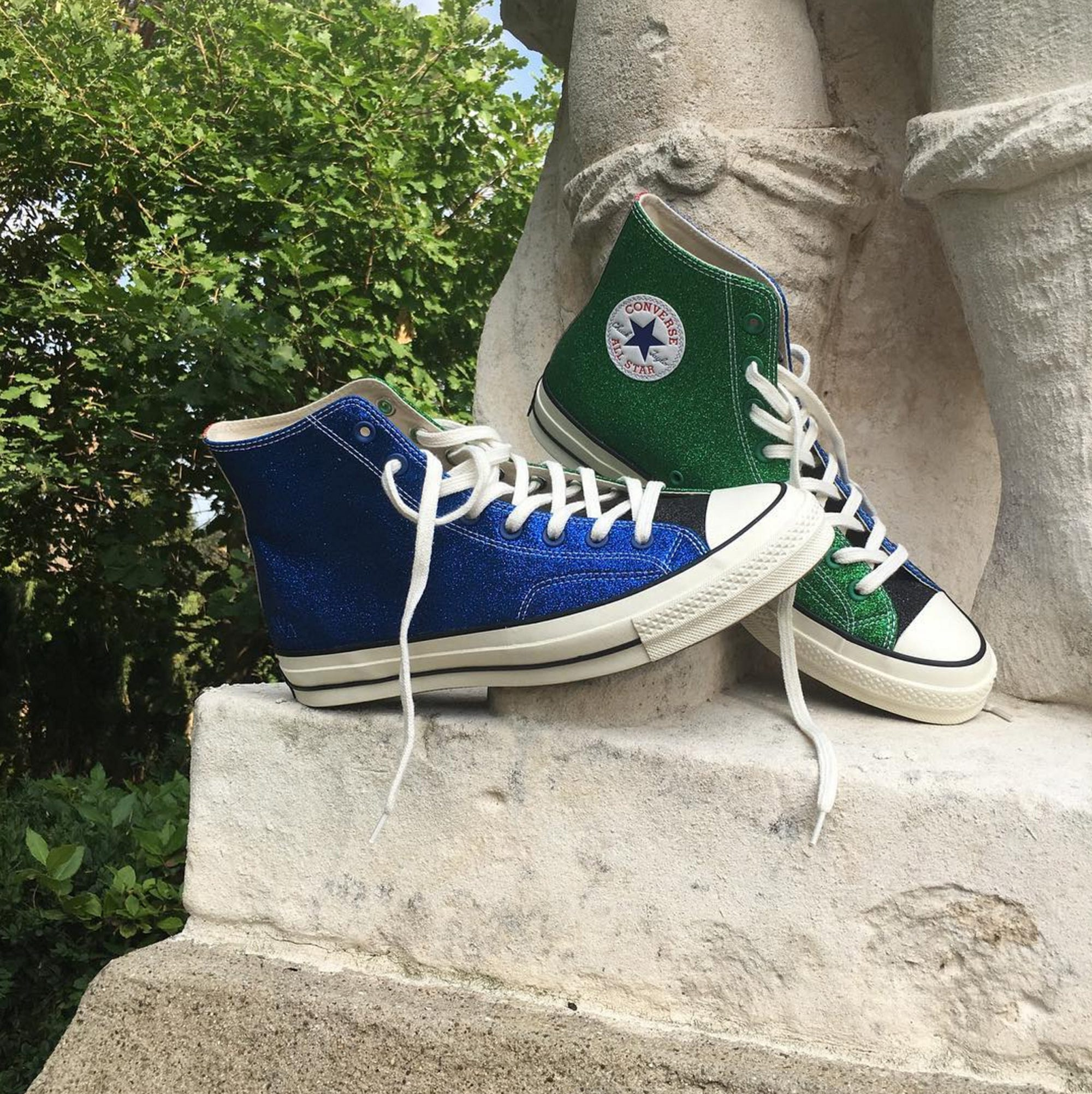fe0d76012943 Converse JW Anderson Collection New Styles Glitter