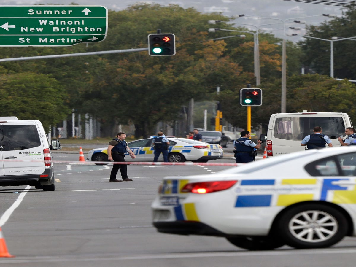 At Least 49 People Killed In Terror Attack On New Zealand Mosques