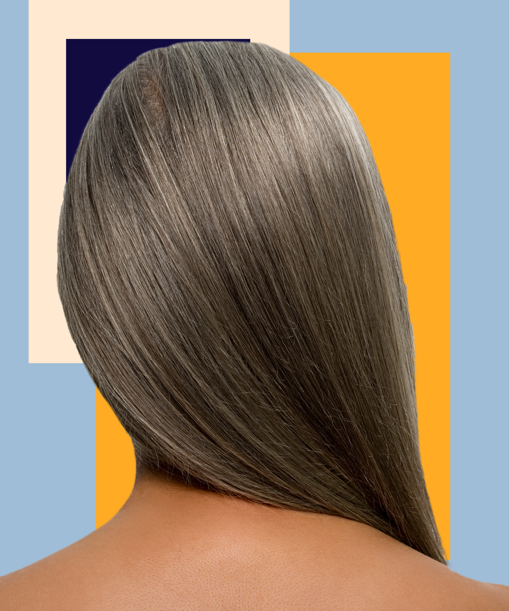 Charcoal Gray Hair Instagram Trend