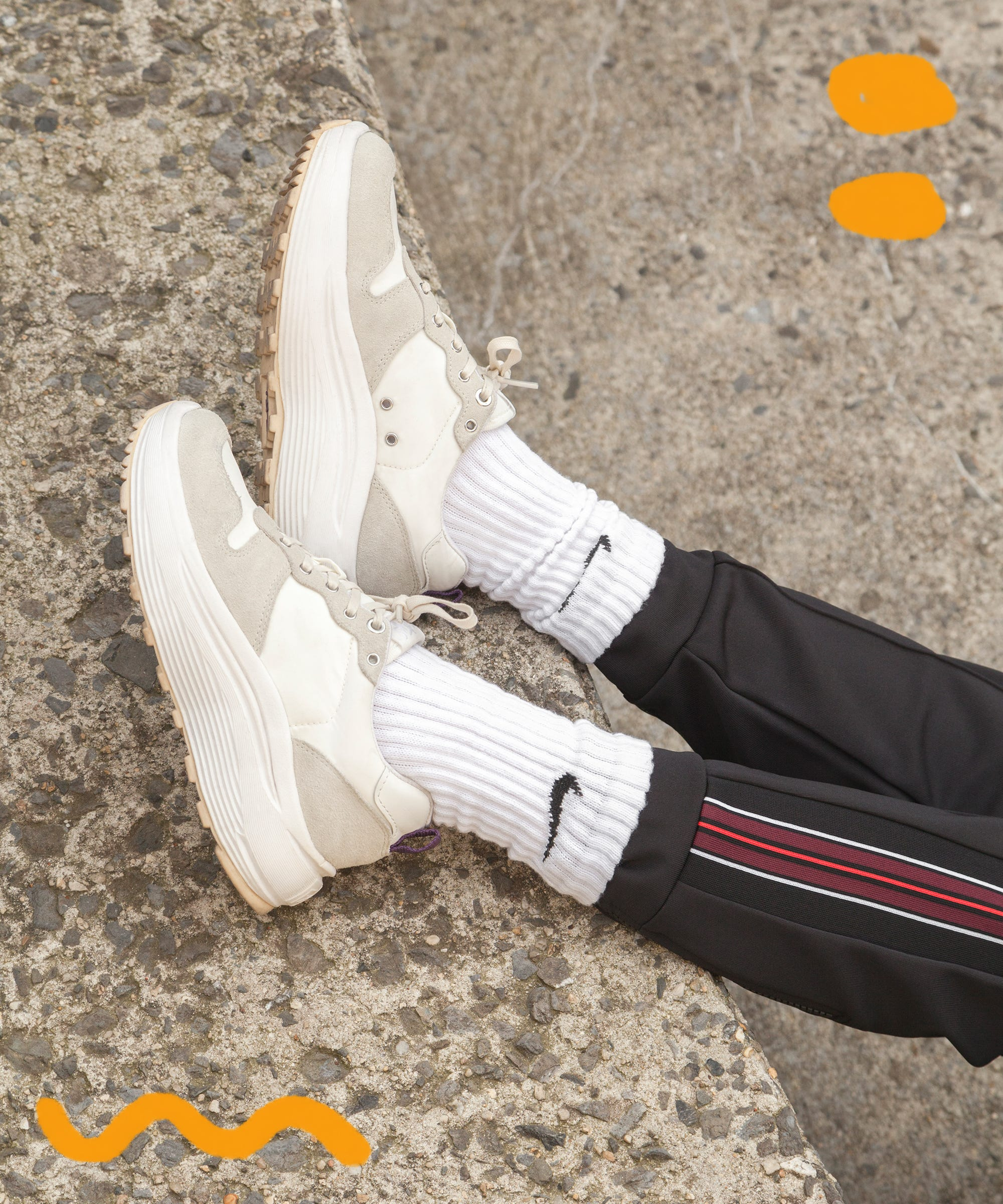a4efbbebc4f5f How To Wear Athletic Ugly Chunky Sneakers Spring Trend