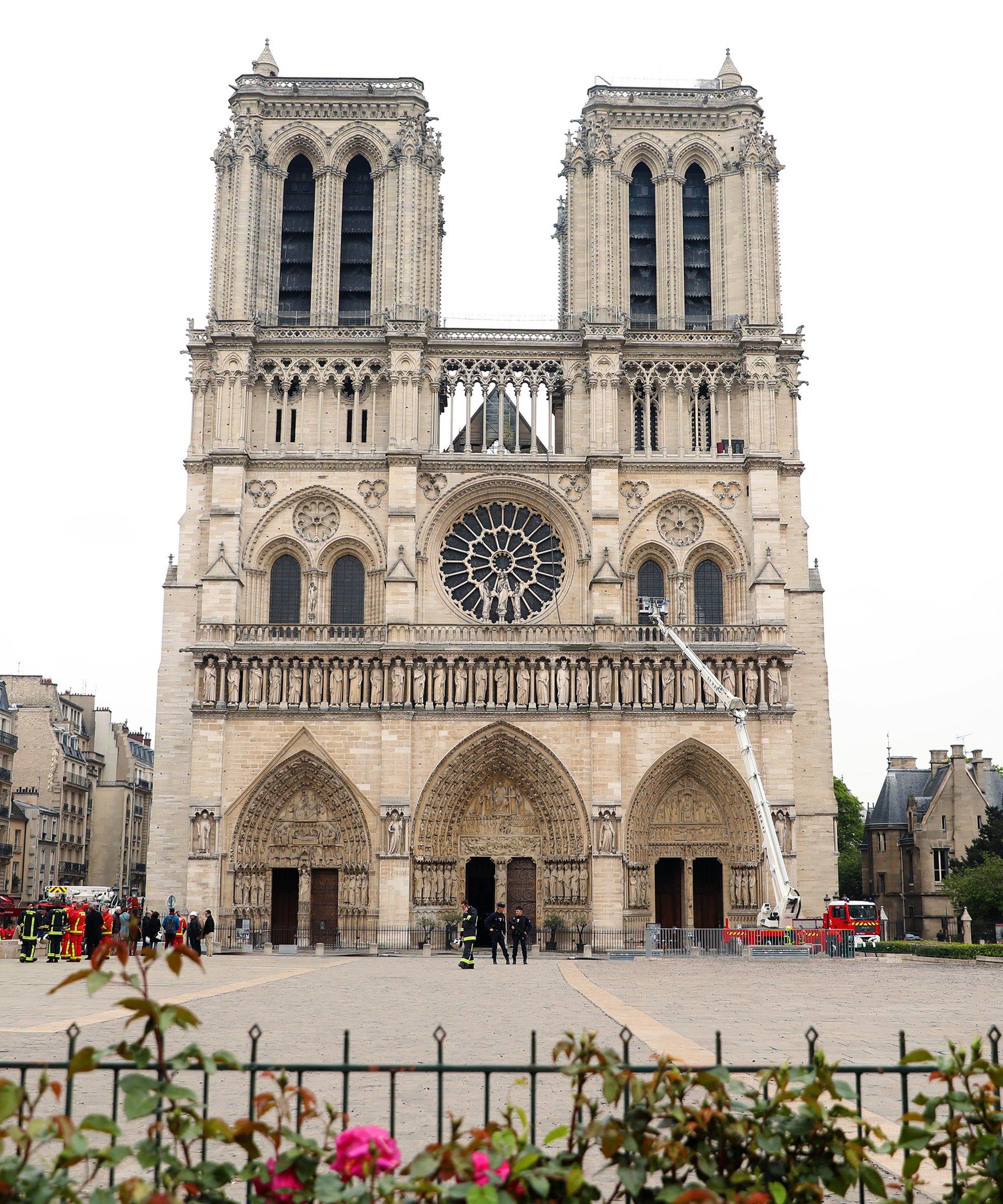 Luxury Fashion Brands Pledge To Help Rebuild Notre Dame