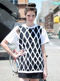 how to make a cut out t shirt mesh shirt diy - T Shirt Cutting Designs Ideas