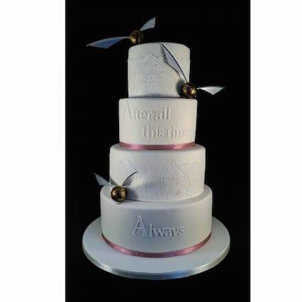 Harry Potter Wedding Cake Ideas Hogwarts Wedding