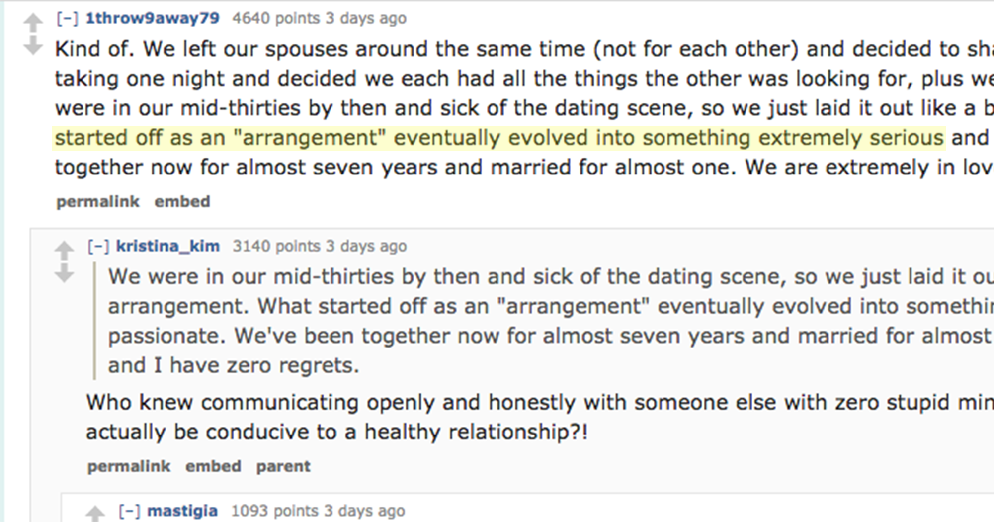 Single Marriage Pact Stories On Reddit