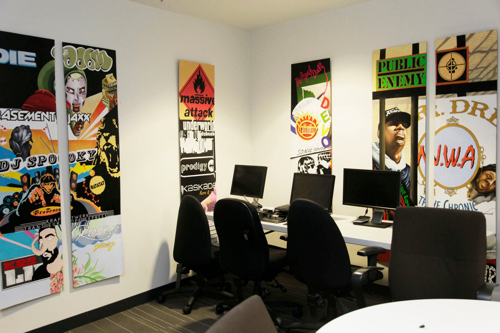 Pandora Radio - Cool Office Spaces 2013