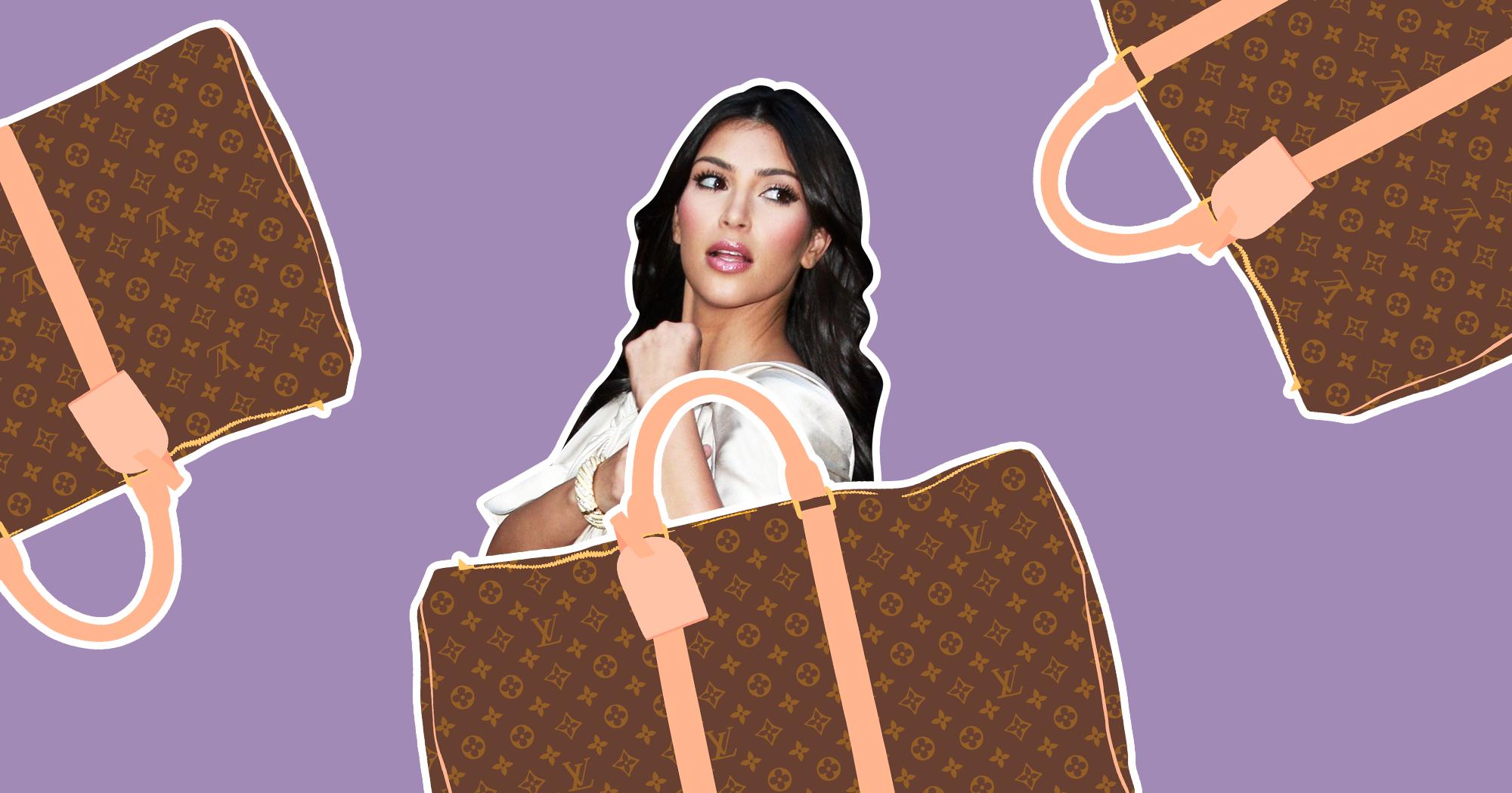 Kim Kardashian West Louis Vuitton Bags Trend History X8 Kendrick T Shirt Size M