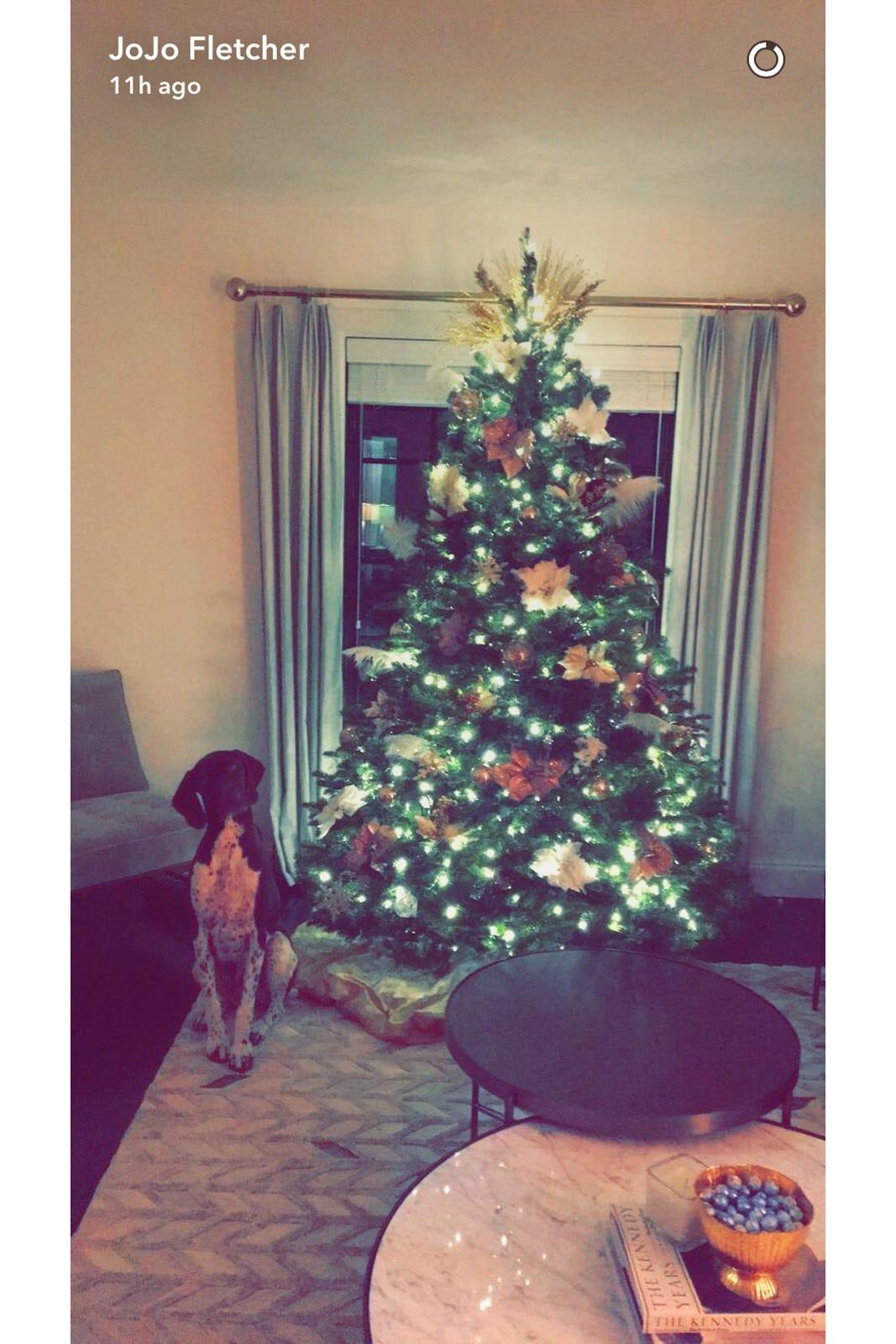 Jojo Fletcher Jordan Rodgers The Bachelorette Christmas
