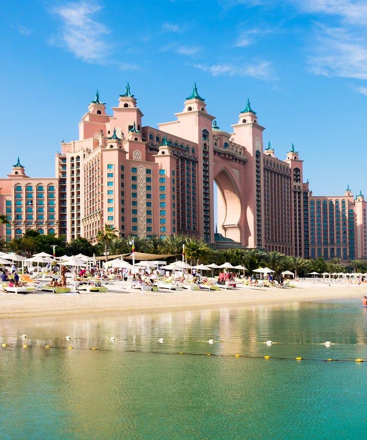 Photo Claire Plumridge Getty Images Atlantis The Palm Hotel