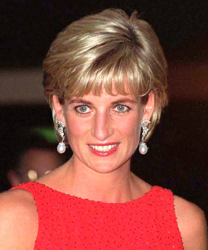 Princess Diana Hair Cut Sam Mcknight Story