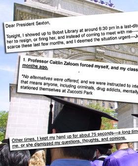 Crazy NYU Student Emails Scandal