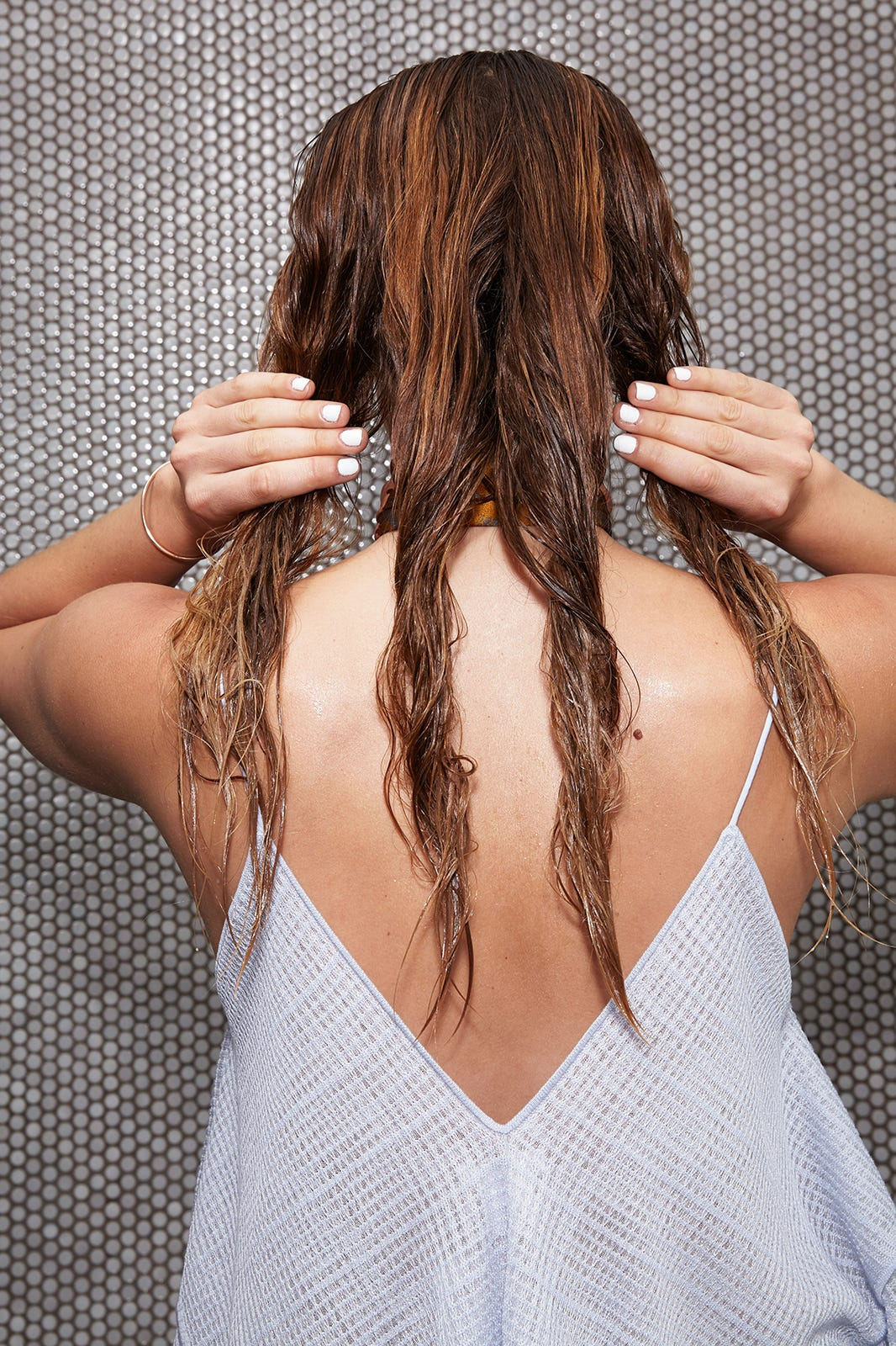 How To Style Hair Without Heat - Wet Hairdos For Summer