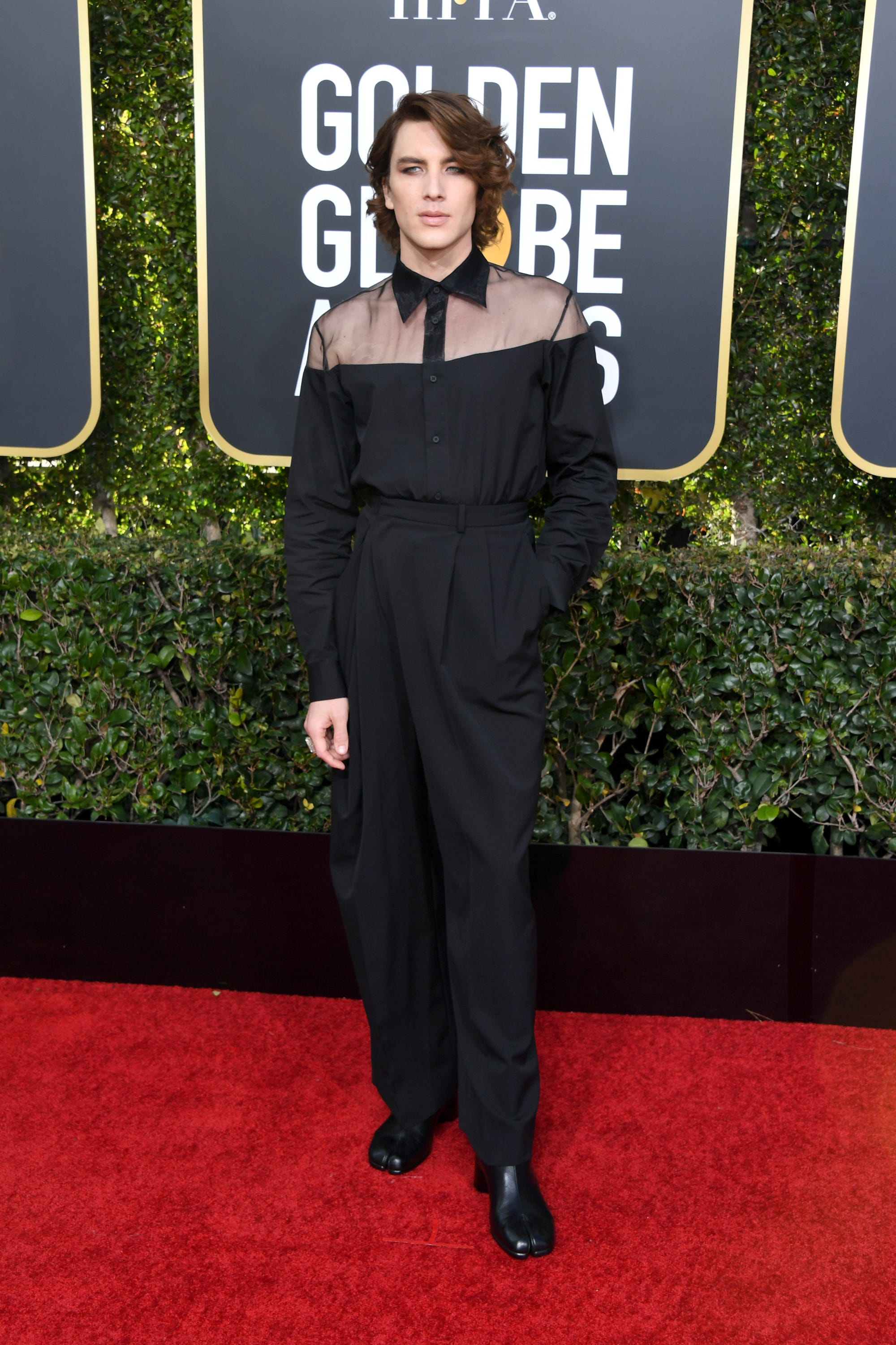 4e4051ea477 Cody Fern   Rise Of Queer Fashion At 2019 Golden Globes