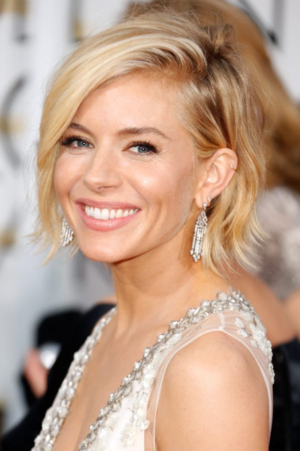 Short Hair Golden Globes 2015