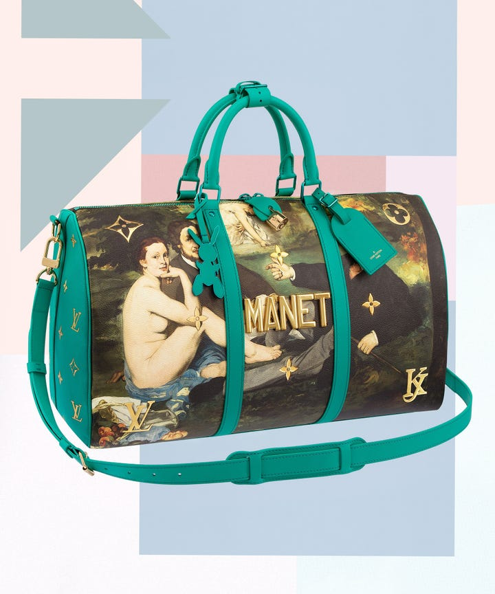 Update Good News If You Didn T Get Your Hands On The Debut Collection Of Handbags Louis Vuitton Created With Artist Jeff Koons Consider This Second
