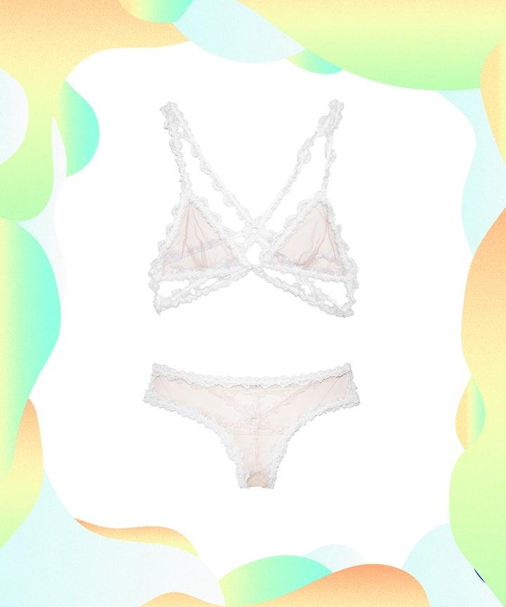 Sexy Valentines Day Lingerie Lace Bras Underwear