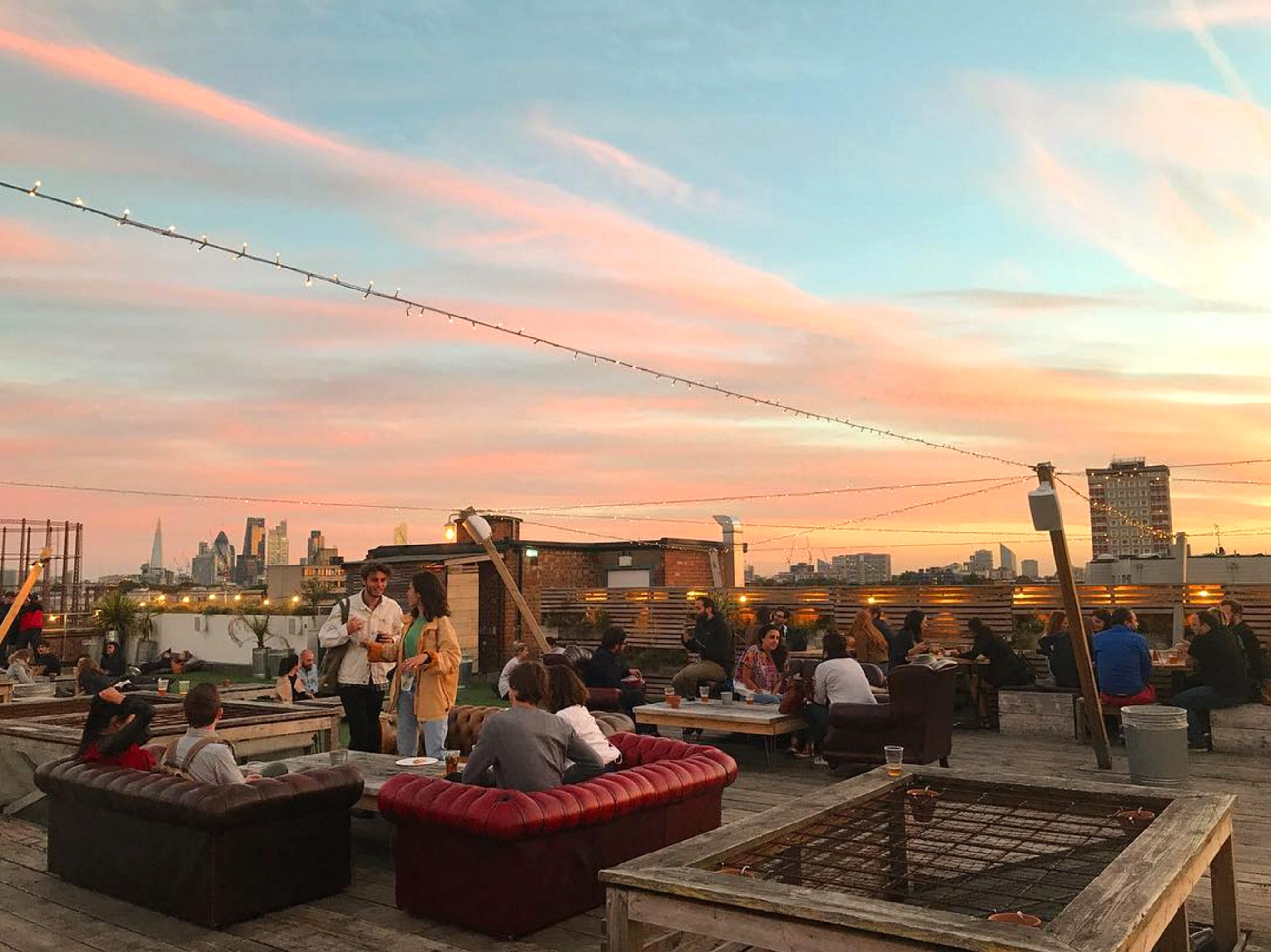 Quick! Soak Up The Sun At London's Best Rooftop Bars