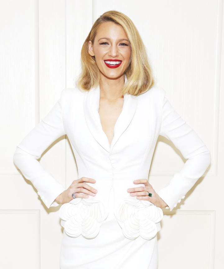 Blake Lively Hair Cut New Style Trends Bob Lob Chop