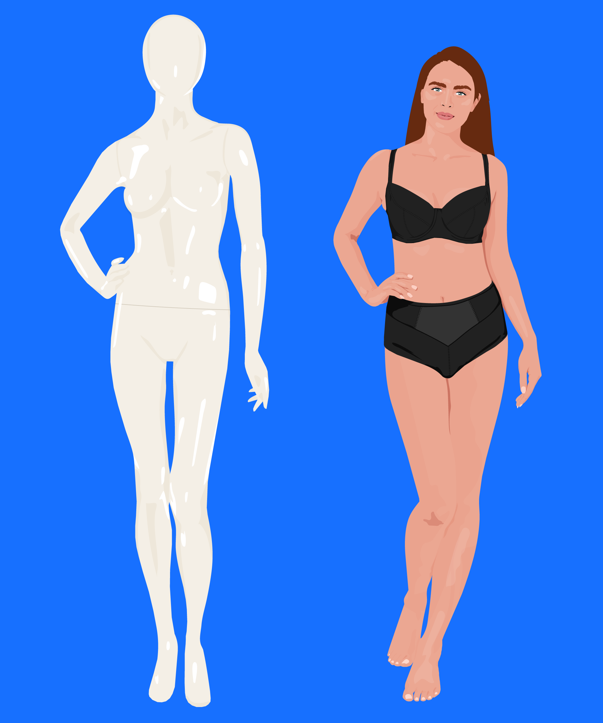 Store Mannequins Womens Body Shape