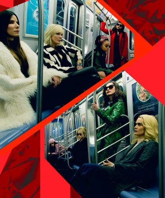 Oceans 8 Subway All Actresses