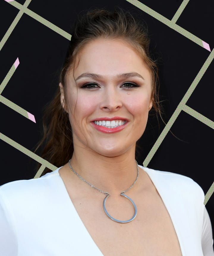UFC Hall of Famer Ronda Rousey