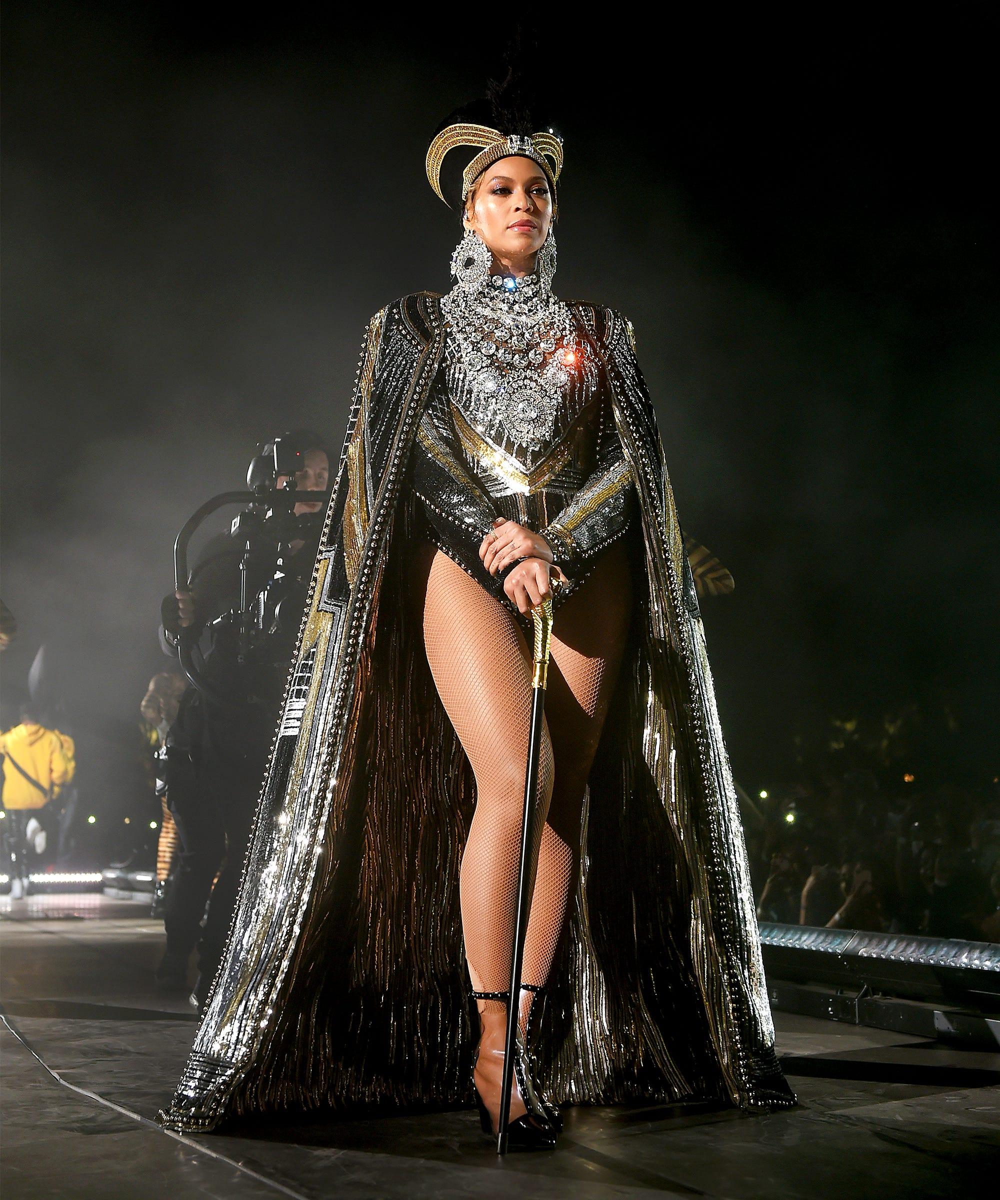 Balmain Designed Beyonce S Legendary Coachella Costumes