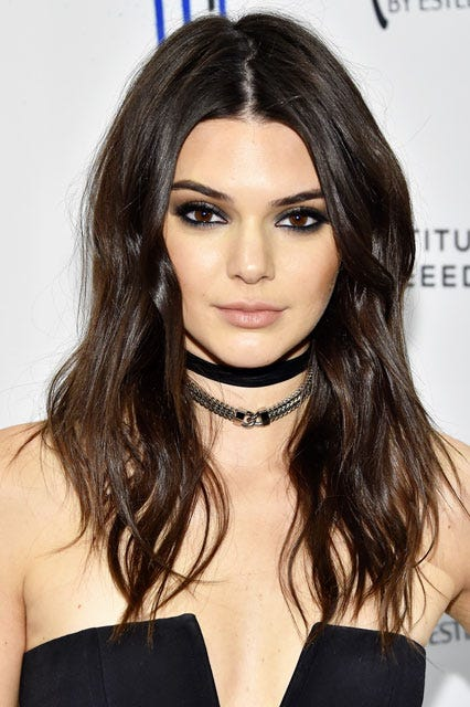 Kendall Jenner Lob Haircut Trend Fall Hairstyle Photos