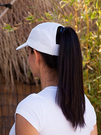 Hytail Ponytail Hat - ADA Activewear 48e6916d8b5