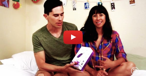 Watch Real Couples Try These Sex Toys For The First Time
