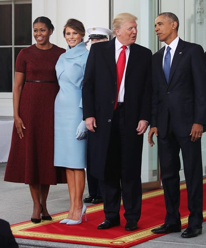 Michelle Delivers A Memorable First Lady Look One Last Time