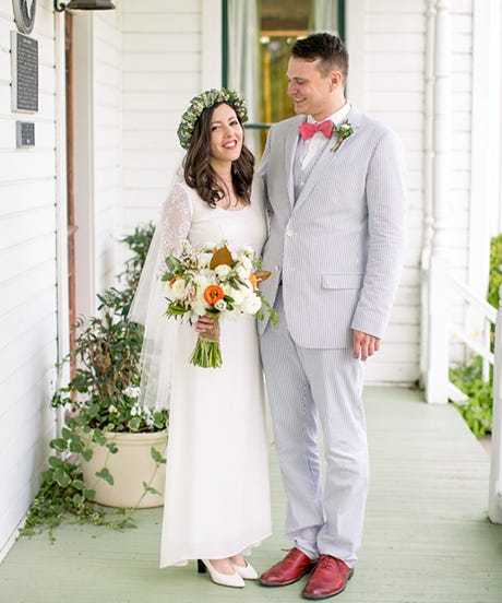 This Charming Wedding Was USDA-Certified Organic