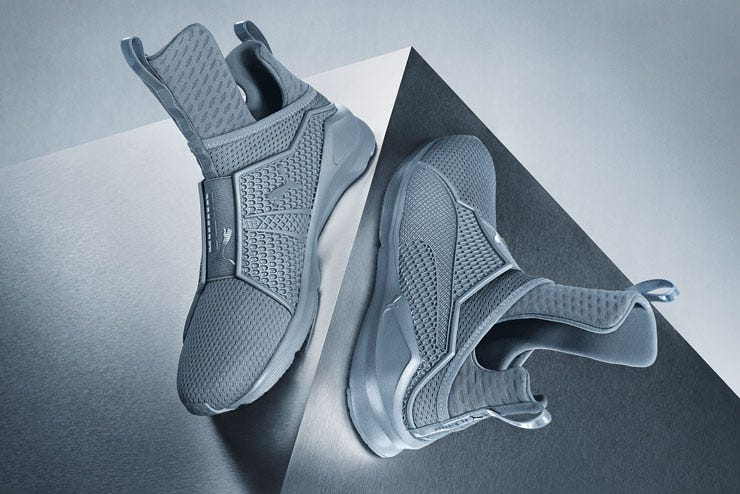 premium selection ac4d1 521f3 Puma Fenty By Rihanna Trainer Gray New Color