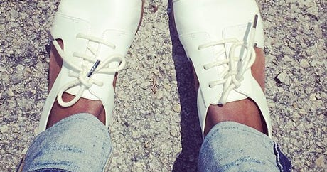 #Shoefies: The So-Rad Snaps We Take Of Our Feet