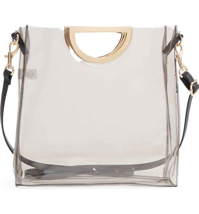 90a76b58a916f6 Best Clear Purse And Handbag Trend During Fashion Week