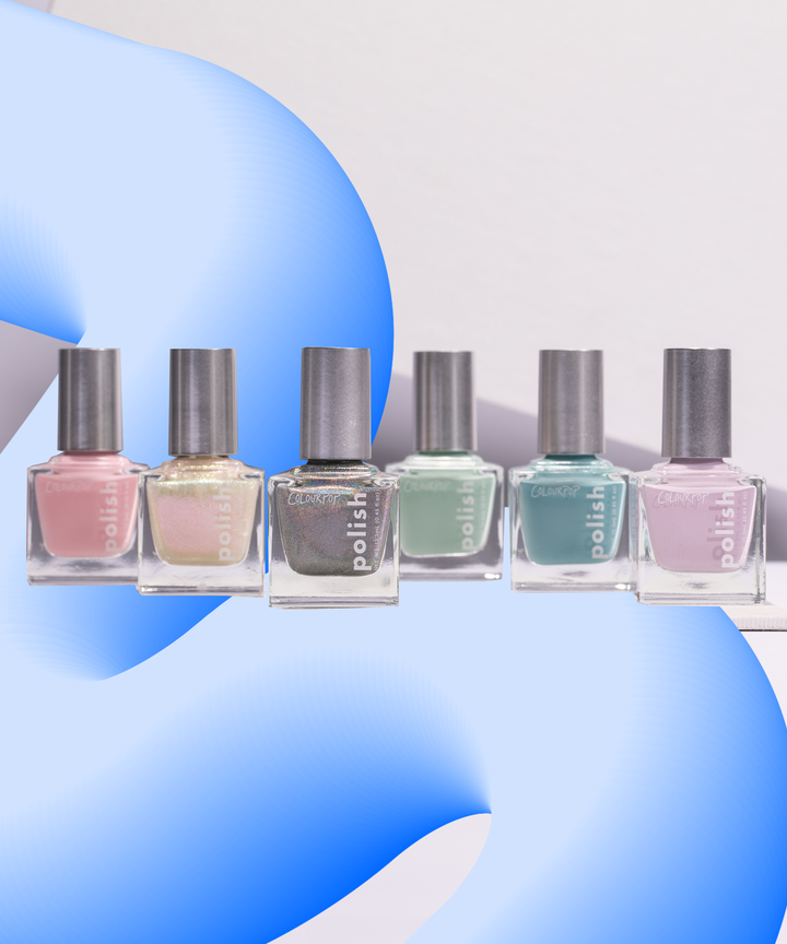 ColourPop Nail Polish Collection Pastel Colors Photos