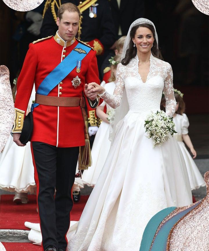 Kate Middleton Two Wedding Dresses Sarah Burton