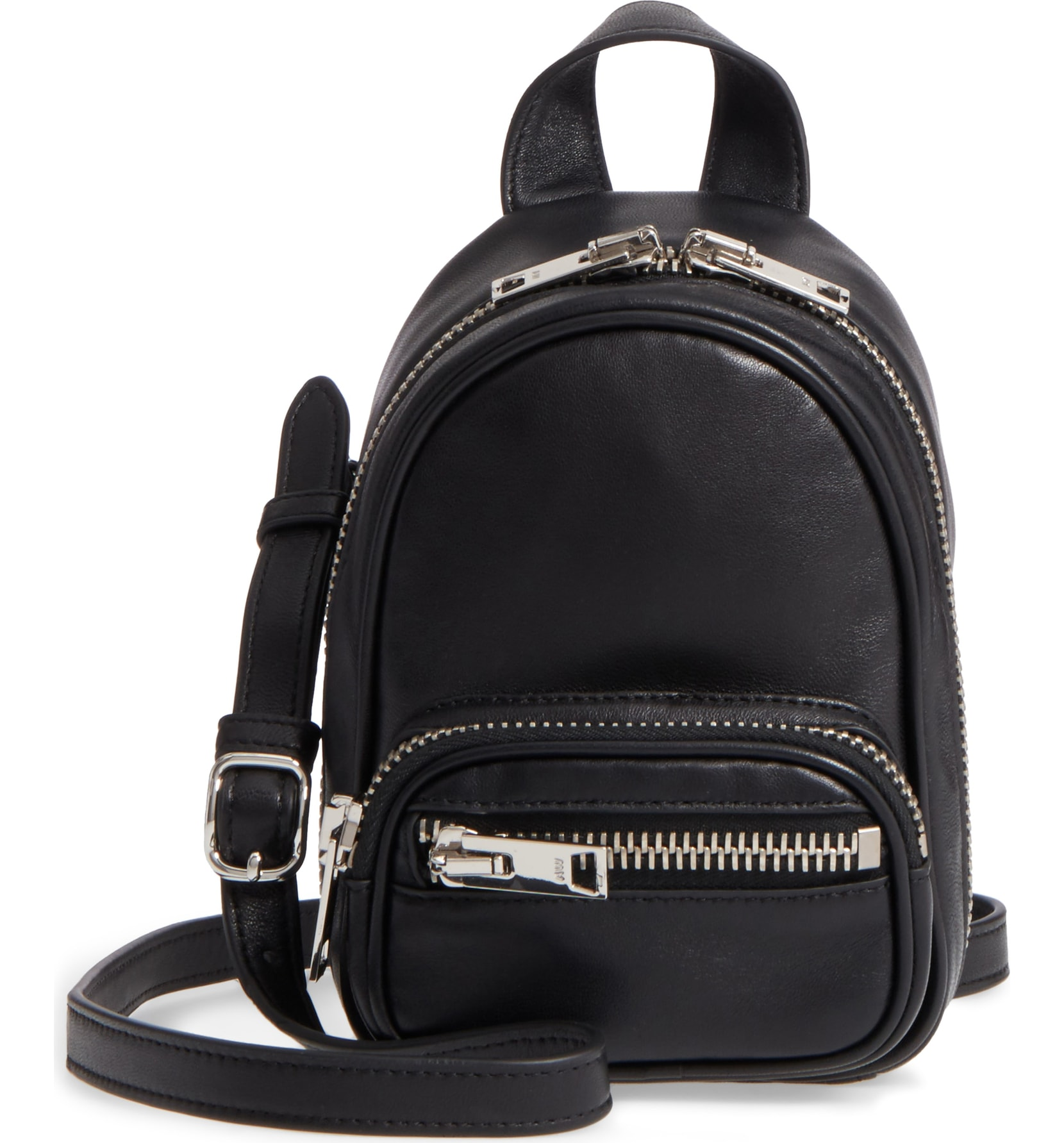 f6fb92e5d7 Adidas Originals Mini Backpack In White Faux Leather