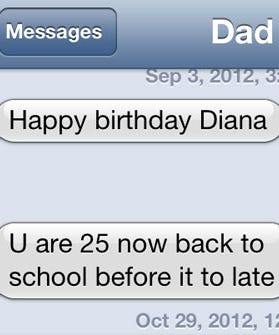 best texts from parents funny dad messages