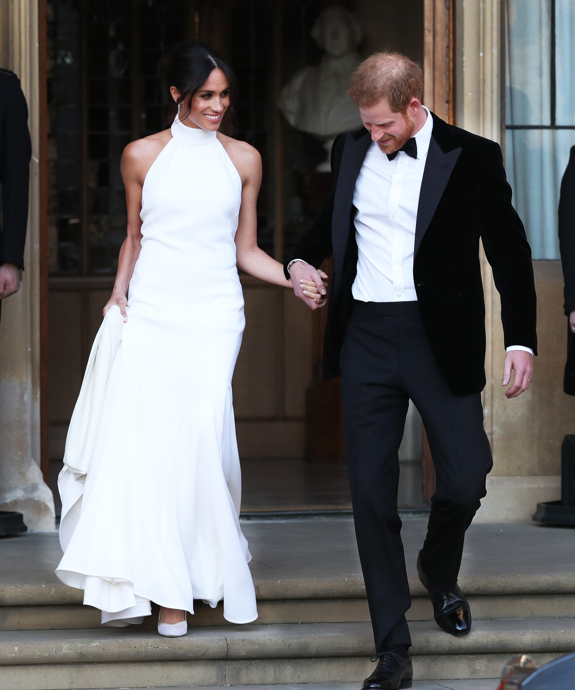 Now You Can Buy A Replica Of Meghan Markle's Reception Dress: Diana Replica Wedding Dress At Reisefeber.org