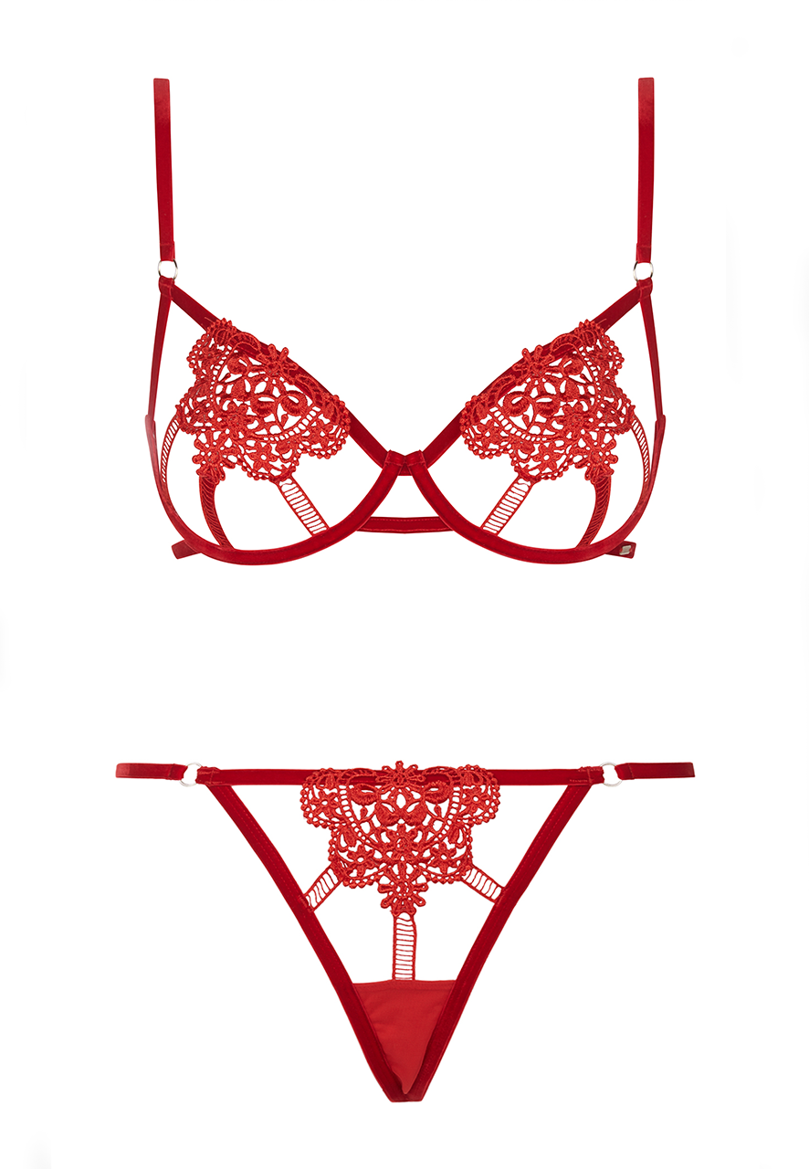 Embrace The Valentine's Day Cliché With These Red Lingerie Sets