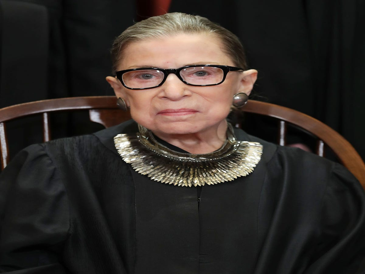 Ruth Bader Ginsburg Undergoes Surgery For Lung Cancer