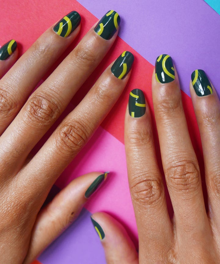 We can come up with a laundry list of beauty treatments that make us feel  like a million bucks, but living like an A-lister isn't always the most ... - Spring Nail Trends To Try At Home From Madeline Poole