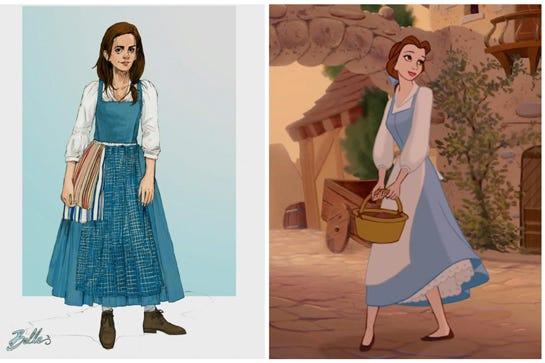 Emma Watson Belle in Die Schöne & das Biest Verfilmung