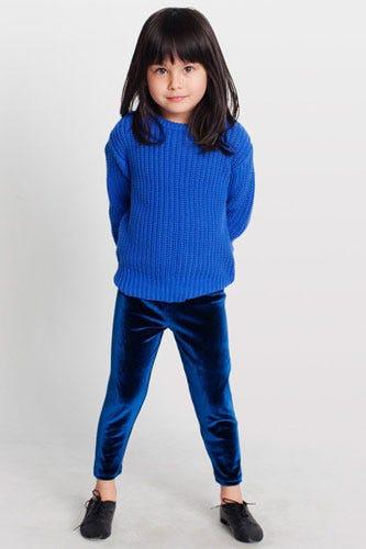 American Apparel Kids Stretch Velvet Legging 22 Available At